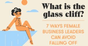 What Is The Glass Cliff? 7 Ways Female Business Leaders Can Avoid Falling Off